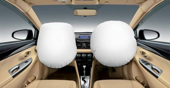 Airbag Frontal Cupecê - Airbags Laterais